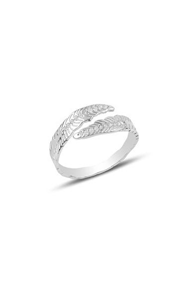 Söğütlü Silver Yüzük Beyaz